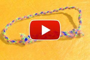 Ilustración de Cómo hacer un nudo corredizo para pulseras - Video