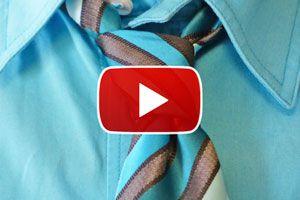 Ilustración de Cómo hacer el nudo de corbata Pratt - Video