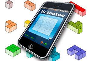 Ilustración de Juegos de ingenio para el smartphone