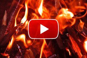 Ilustración de Cómo encender el carbón - video