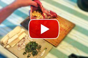 Ilustración de Cómo hacer carne rellena a la parrilla - Video