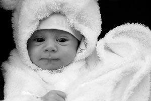 Ilustración de Cómo Saber si el Bebé tiene Frío