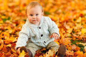 Ilustración de Cómo vestir al bebé en invierno