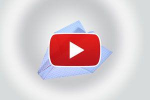 Ilustración de Cómo hacer un avion planeador de papel - Video