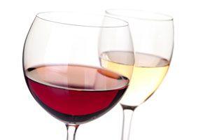 Ilustración de El vino ayuda a perder peso
