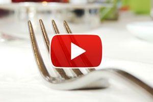Cómo poner los cubiertos en una mesa formal - Video