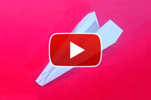 Ilustración de Cómo hacer un avión de papel modelo Silvio