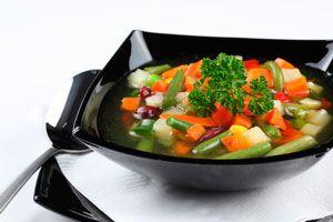 Ilustración de Dieta de la sopa