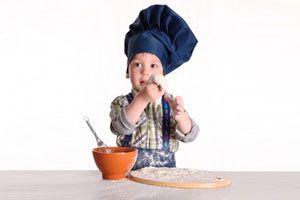 Ilustración de Errores comunes de cocineros principiantes