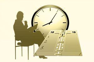 Ilustración de 3 pasos para tener tiempo libre