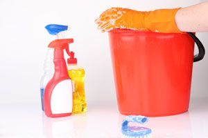 Ilustración de Cómo hacer Productos de Limpieza Caseros para el Baño