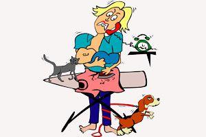 Ilustración de C&oacutemo Trabajar siendo Madre