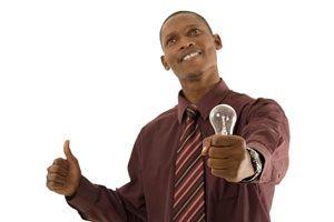 Ilustración de C&oacutemo ser un Emprendedor con Buenas Ideas