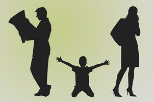 Ilustración de Cómo divorciarme sin dañar a mi hijo