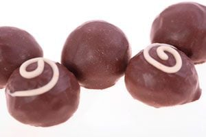 Ilustración de Cómo Hacer Bombones de Menta con Chocolate