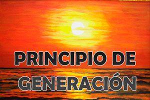 Ilustración de ¿Qué es el Principio de Generación?