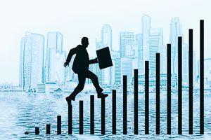 Ilustración de 8 pasos para iniciar un negocio con &eacutexito