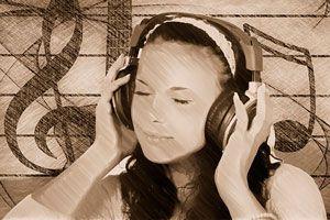 Ilustración de Musicoterapia para Calmar el Dolor