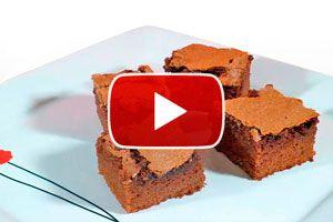 Ilustración de Cómo Hacer Brownies Caseros