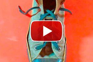 Como atar los cordones con nudo cremallera. Formas de atar los cordones del calzado, nudo cremallera. Nudos para atar el calzado