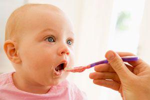 Ilustración de 3 Recetas Caseras para Bebés de 8 Meses