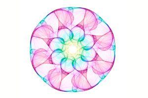 Ilustración de C&oacutemo Meditar con Mandalas