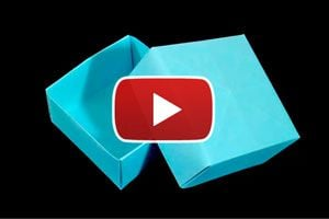 Guia para crear una caja masu, siguiendo instrucciones de origami. Pasos para crear una caja con una hoja de papel