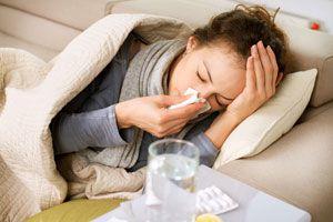 Ilustración de Cómo Tratar una Gripe