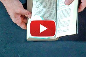 Ilustración de Cómo hacer un Señalador de Libros con forma de Corazón