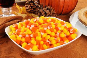 Ilustración de Cómo Hacer Candy Corn para Halloween
