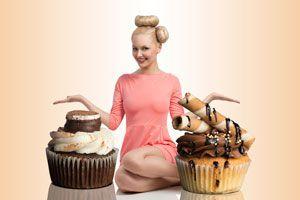 Ilustración de Cómo hacer un Cupcake Gigante
