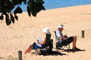 Ilustración de Cómo Elegir Libros para Leer en Vacaciones