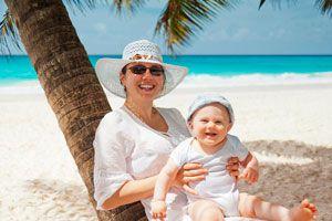 Ilustración de Cómo Ir de Vacaciones con un Bebé