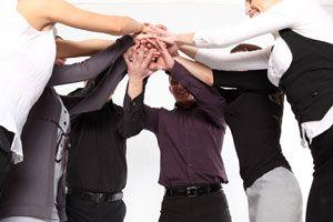 Ilustración de Cómo hacer Amigos en el Trabajo