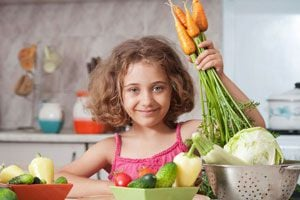 Ilustración de Cómo Empezar a Ser Vegetariano