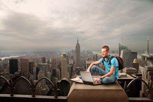Ilustración de Cómo Ganar Dinero con un Blog de Viajes