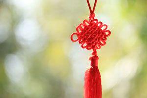 Ilustración de Feng Shui para Atraer el Amor en San Valentín