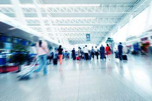 Ilustración de Cómo Evitar Perderse en un Aeropuerto