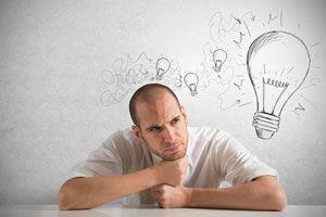 Ilustración de Cómo Tener una Mente Positiva en el Trabajo
