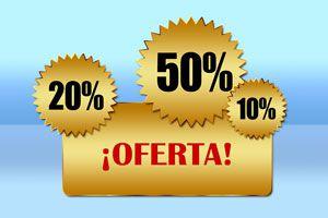 Ilustración de Comparadoras Online: Ofertas de productos y Servicios