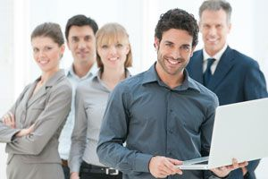 Ilustración de Tips para Tener Trabajadores Saludables