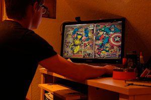 Ilustración de Programas para Leer Cómics y Manga