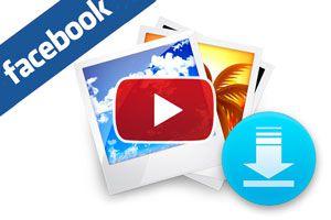 Ilustración de Cómo Descargar álbumes de Fotos en Facebook