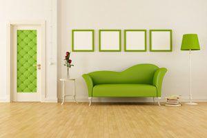 Pasos para tapizar una puerta. Cómo decorar una puerta con un tapizado. Cómo hacer una puerta tapizada