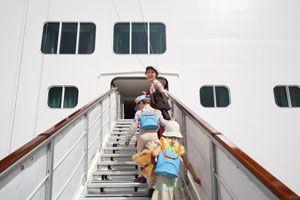 Ilustración de Cómo Viajar en Crucero con Niños