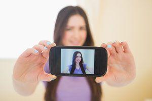 Ilustración de Cómo Tomar una Selfie