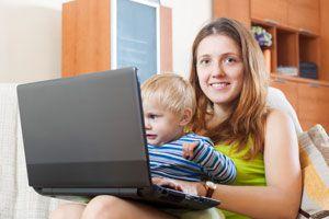 Ilustración de Cómo Ser Madre y Emprendedora