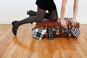 Ilustración de Cómo Empacar en 5 Pasos
