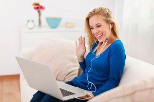 Ilustración de Cómo hacer una Buena Entrevista por Skype