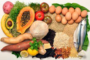 Ilustración de Alimentos para Reducir el Azúcar en Sangre
